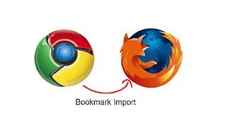 cara import bookmark dari firefox ke chrome
