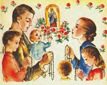 ¡Restauremos el Santo Rosario diario en familia!