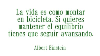 Frases de Albert Einstein sobre vida y equilibrio