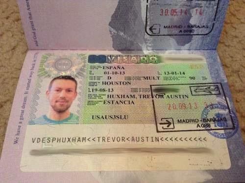 Spanish student visa from the Houston consulate