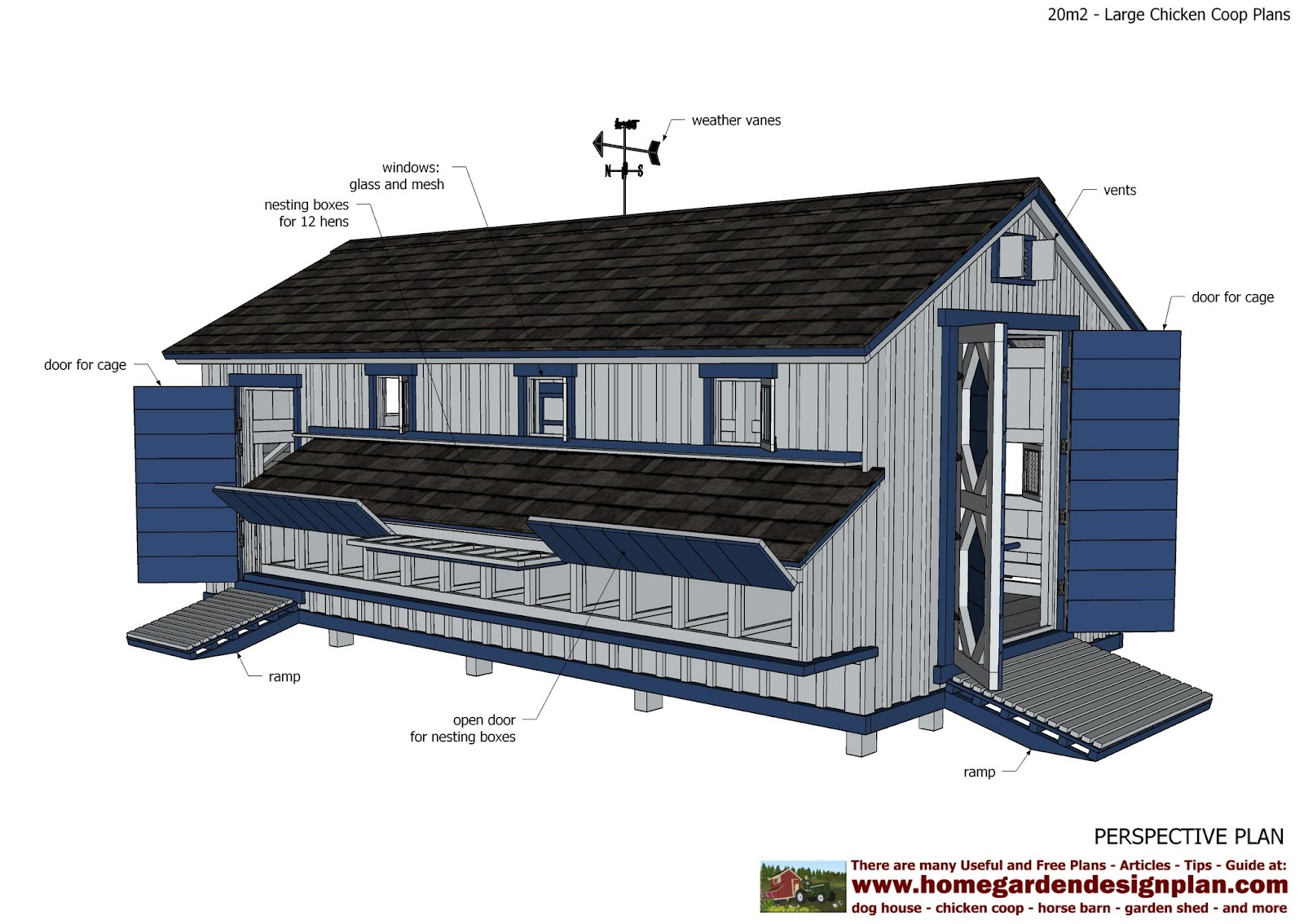 Poultry house plans free abiel storage for Poultry house plans for 100 chickens