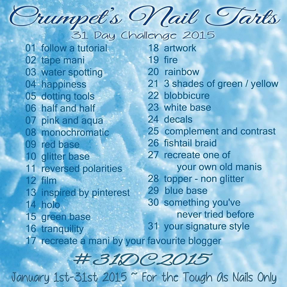 Crumpet's Nail Tarts 31 Day