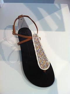 Giuseppe Zanotti Natural Crystal Sandal