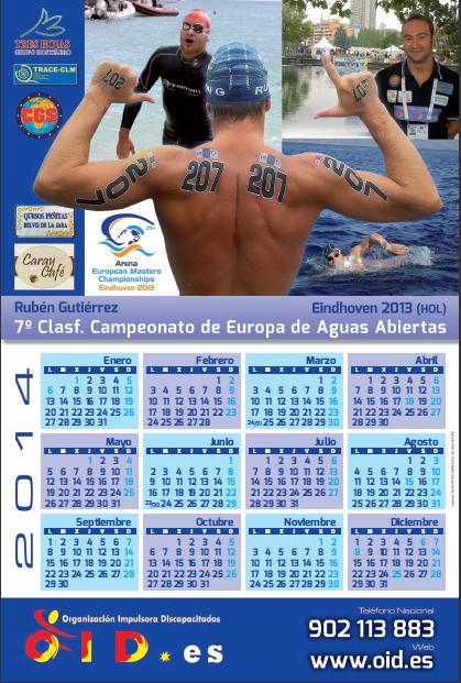 CALENDARIO 2014: