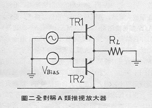 全對稱a類推挽電路