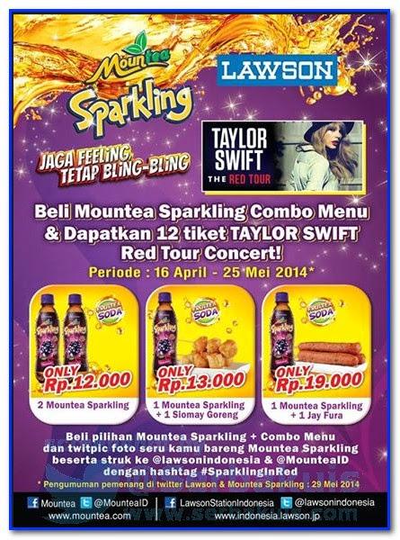 Promo Berhadiah Total 12 Tiket Taylor Swift GRATIS