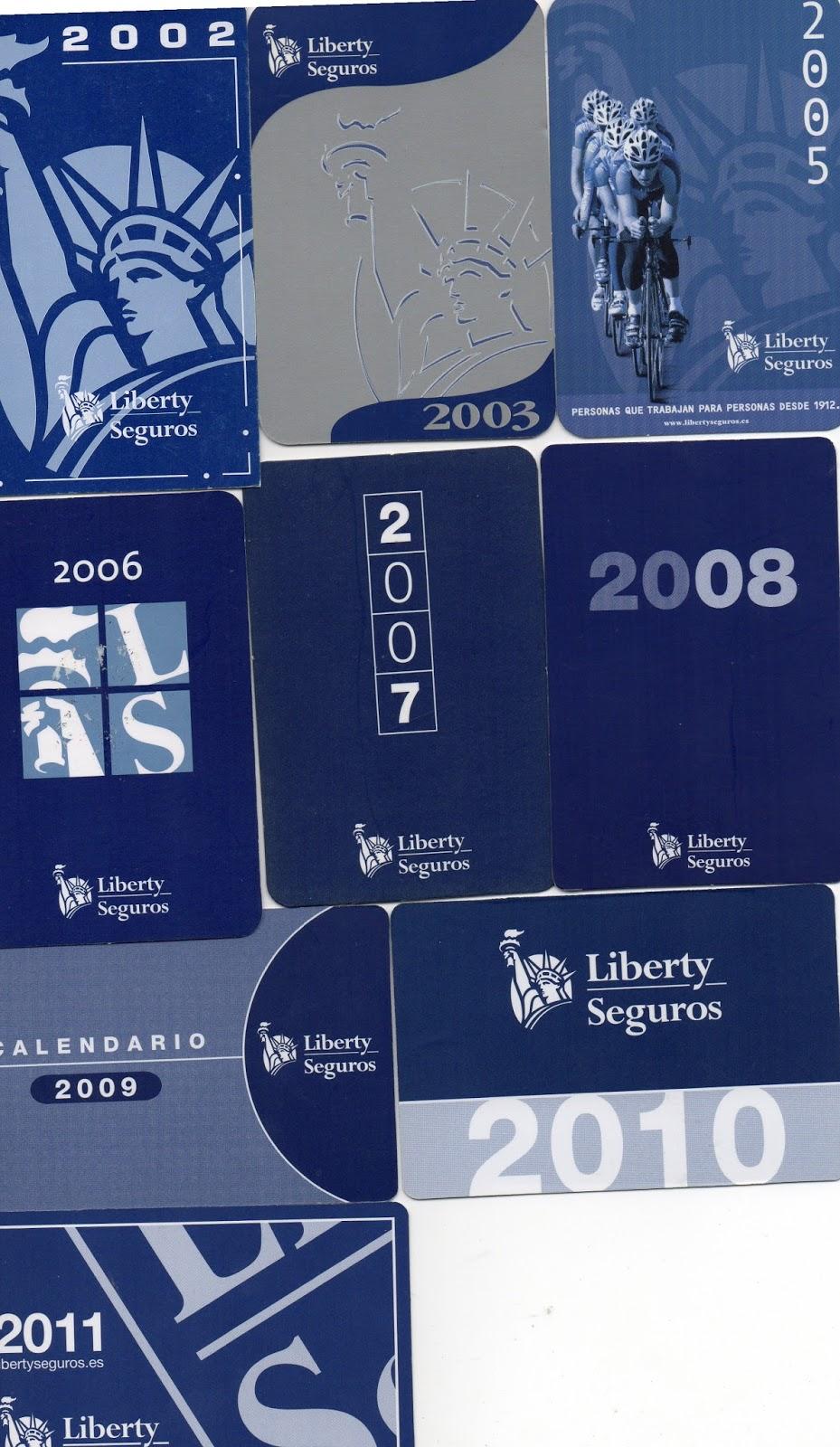 Colecciono calendarios la n rdica 1984 2000 liberty for Oficinas genesis seguros