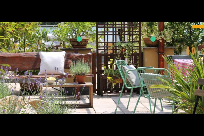 jardim fundo quintal:Disegno ? Milanesa: La terrazza!
