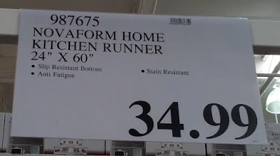 Deal for the Novaform Home Anti-Fatigue Kitchen Runner Mat at Costco