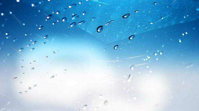 Water Splash Windshield HD Wallpaper