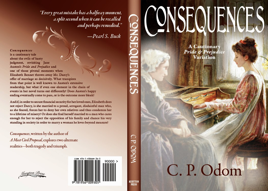Book Cover - Consequences by C P Odom