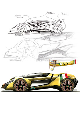 Ferrari World Design Contest   2011   Supercar Sketches Gallery