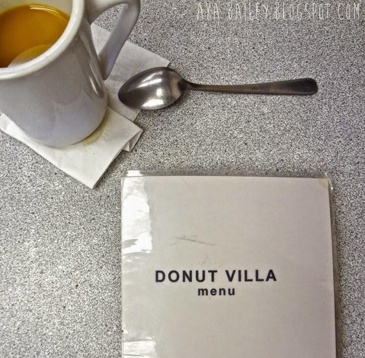 Donut Villa, Malden, MA, coffee and menu
