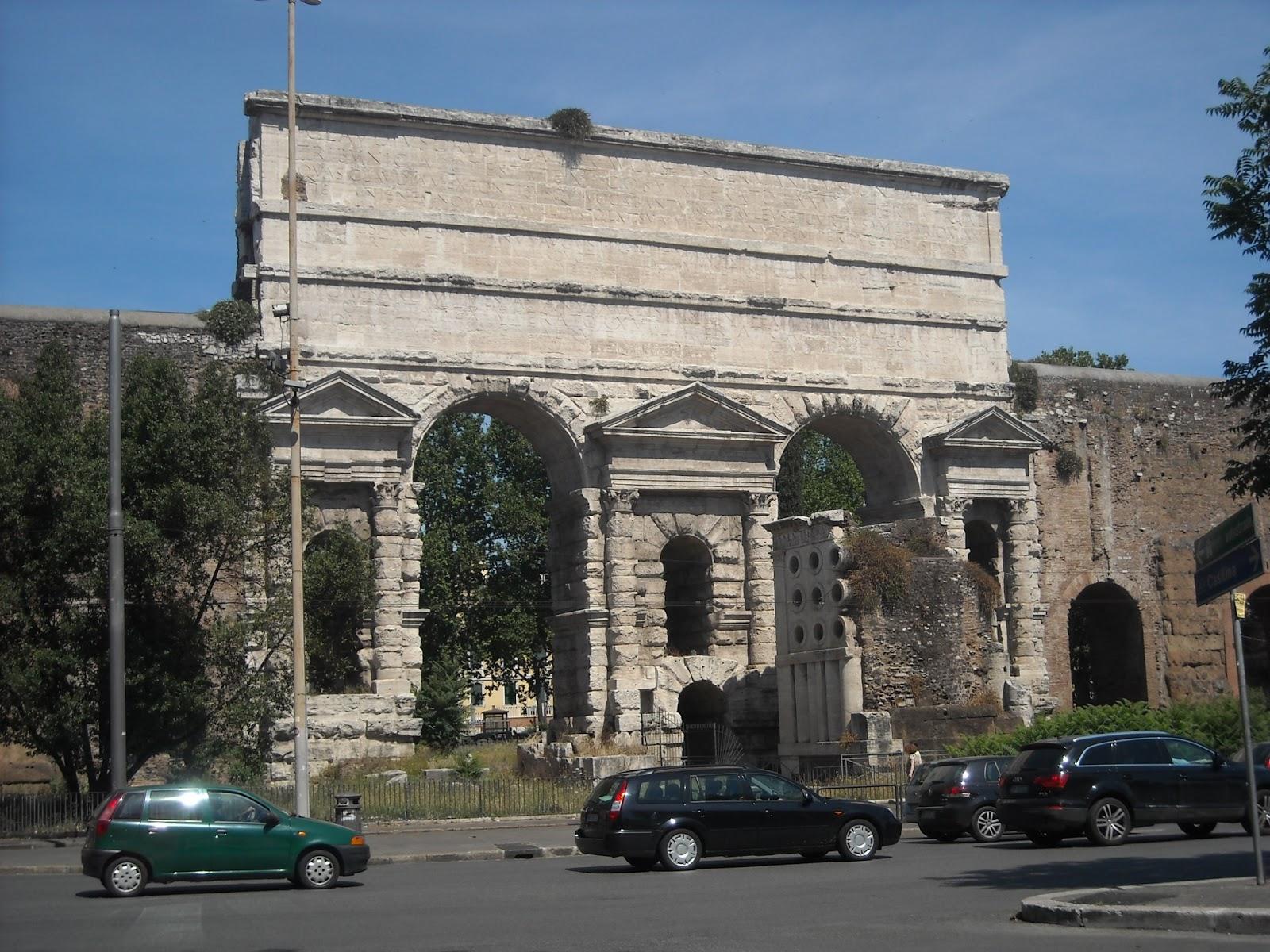 Bisanzio porta maggiore porta prenestino labicana - Rome porta maggiore ...