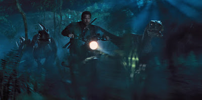 Chris Pratt in Jurassic World