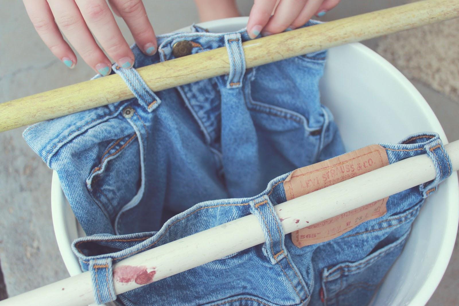 What we love dip bleach shorts diy for How to bleach part of a shirt