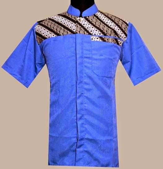 Model baju muslim kombinasi batik terbaik
