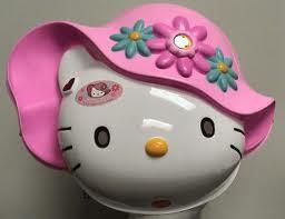 GAMBAR HELLO KITTY HAT FUNNY