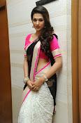 Shaddha das glamorous photos in saree-thumbnail-17