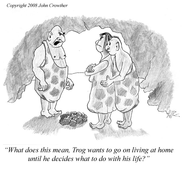 Empty Nest Syndrome Cartoons | lol-rofl.com You Gonna Learn Today Meme