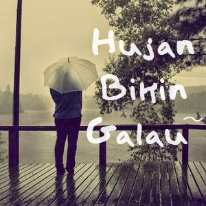 Gambar Hujan Bikin Galau Status BBM FB Wallpaper Terbaru Sedih