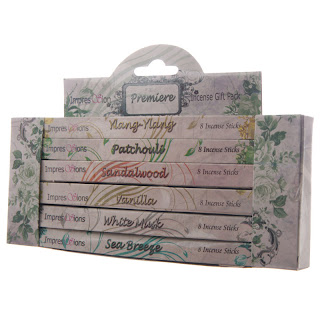 Impressions Incense 6 Pack Gift Set - Mothers Day Gifts