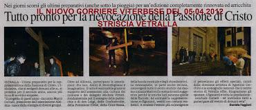 RASSEGNA STAMPA DEL NUOVO CORRIERE VITERBESE DEL 05.04.2012