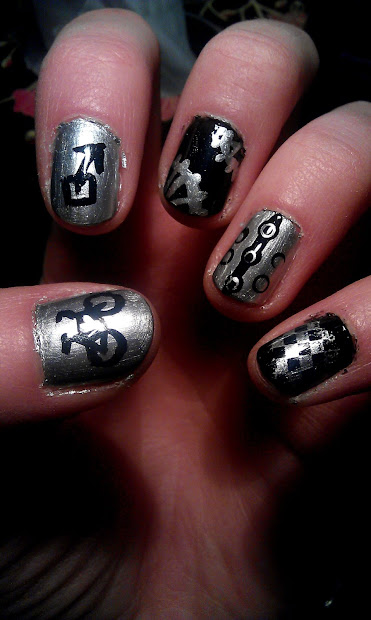 nailsketeers cycling themed