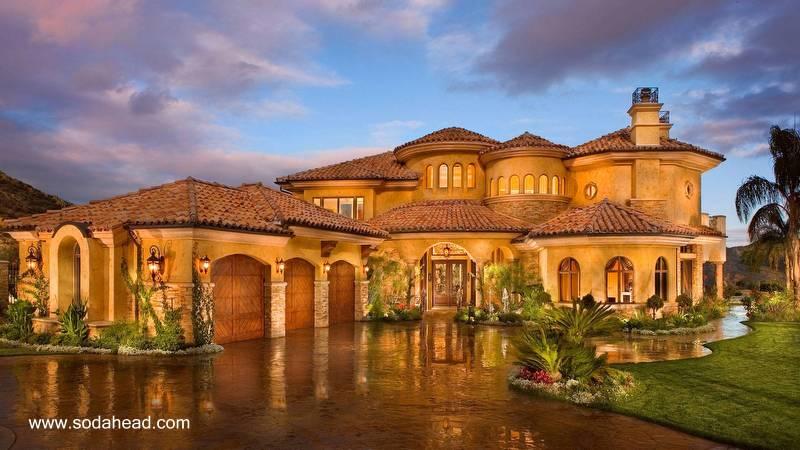 Arquitectura de casas: ejemplos y modelos de casas americanas.