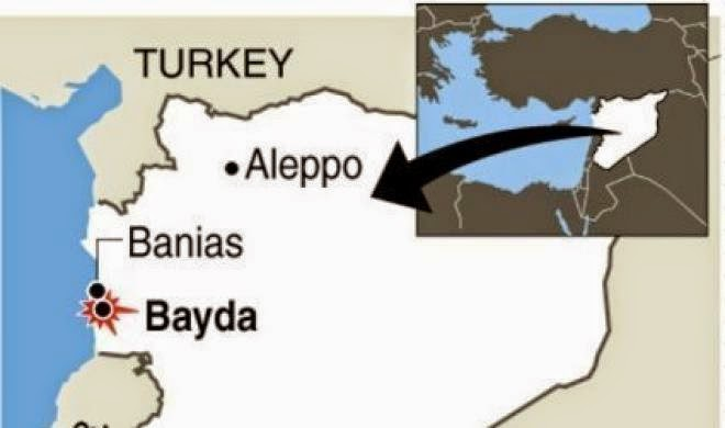 Syiah Bashar Assad Bunuh Muslimin Banias Suriah