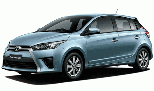 New Yaris E Manual Warna Frozen Blue Metallic 2014