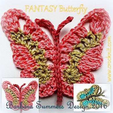 FANTASY BUTTERFLY Pattern