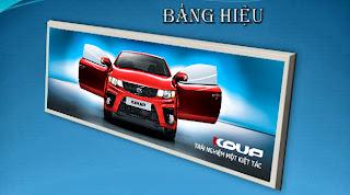In bảng hiệu bằng bạt hiflex giá rẻ, In bang hieu gia re tai TPHCM, In bảng hiệu quảng cáo tại TPHCM