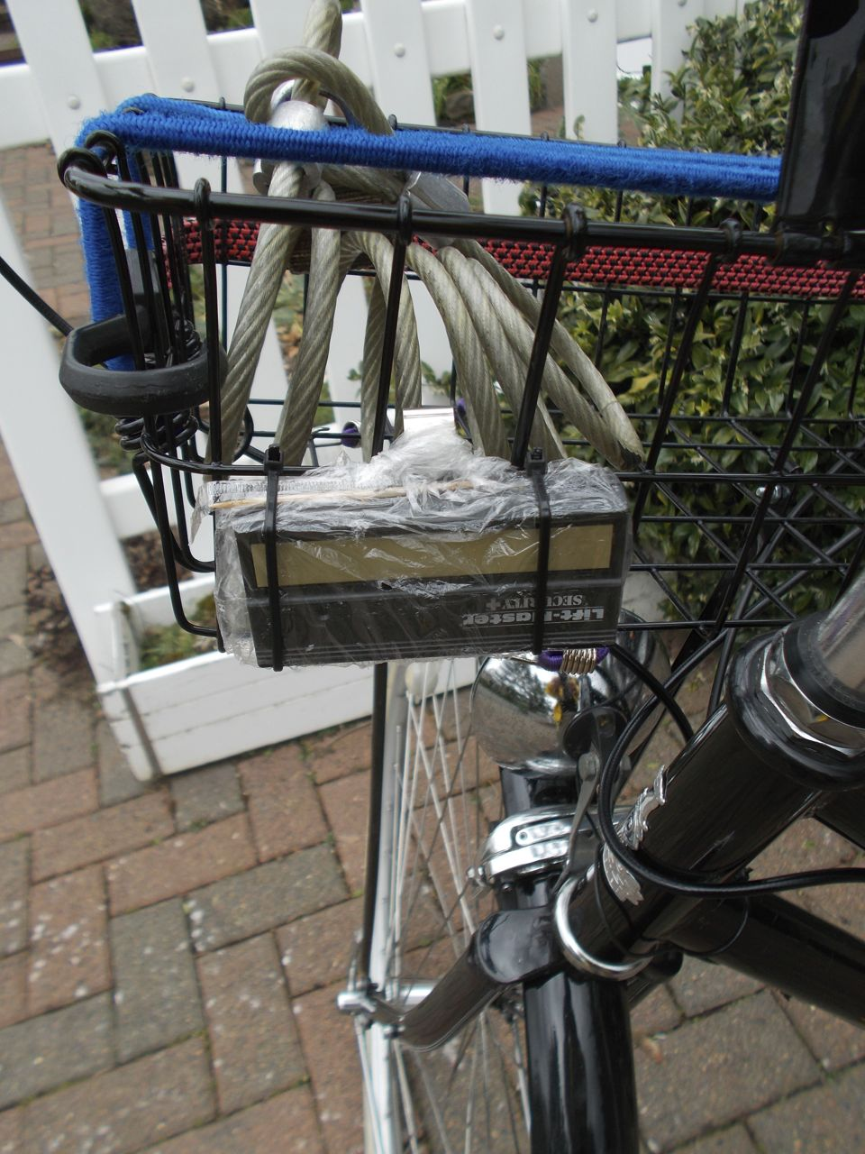 The upright cyclist the raleigh classic roadster nearly - Bicycle garage door opener ...