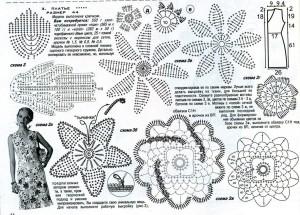 Вязание крючкоммодели схемы 96