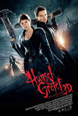 Hansel & Gretel Witch Hunter 2013 3d film movie poster large