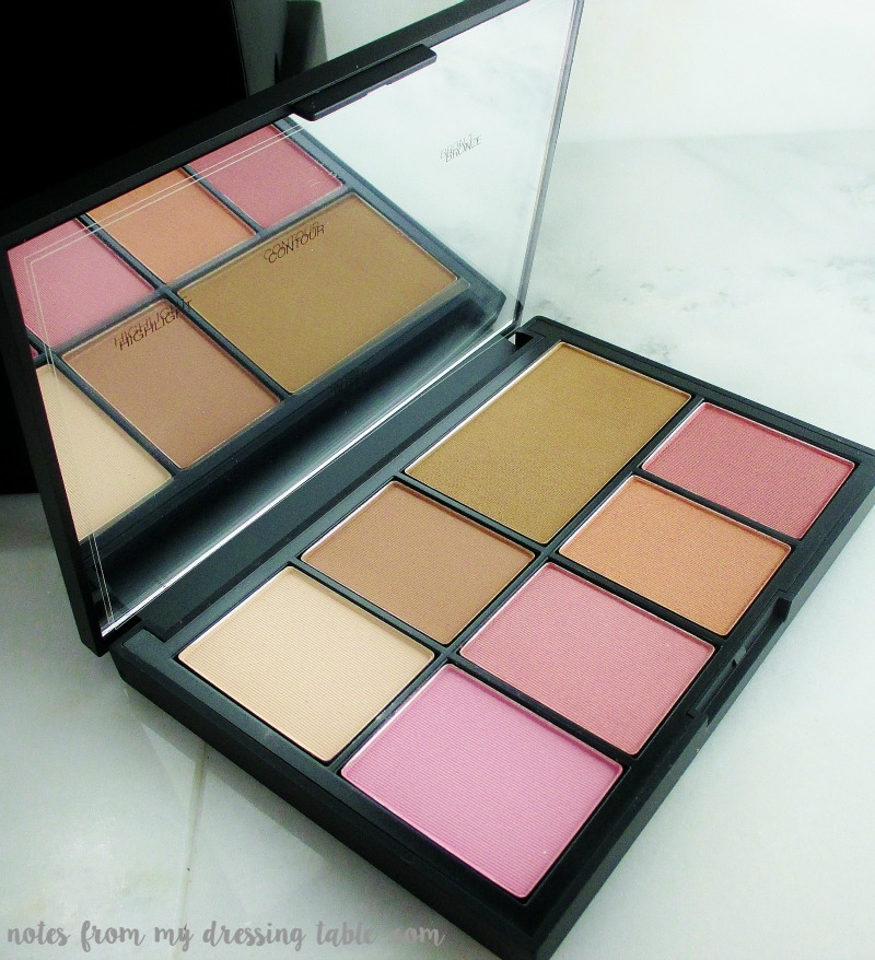 NARS One Shocking Moment Cheek Palette Close Up notesfrommydressingtable.com