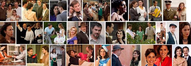 Actores y escenas de Amar en tiempos revueltos, serie de TVE