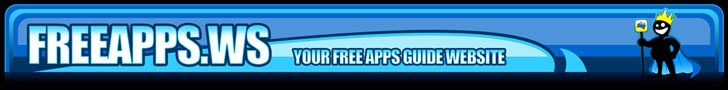 Free Apps Guide 728 x 90 Banner Ad
