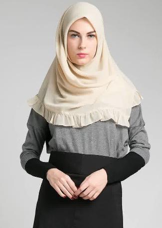 Hijab Segi Empat Modern dan Simple