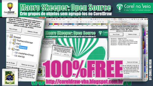 Conhe A Macro Skeeper Open Source Crie Grupos De Objetos