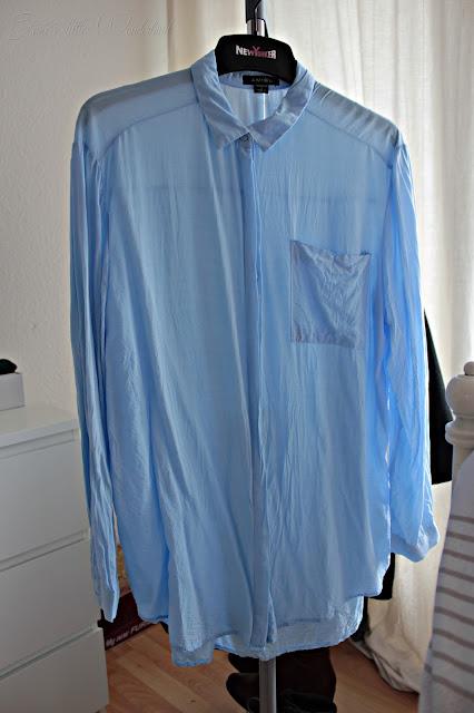 Fashion | Novemberausbeute, blog, shoppingausbeute, josie´s little wonderland, november, blouse, blau, oversize hemd, new yorker