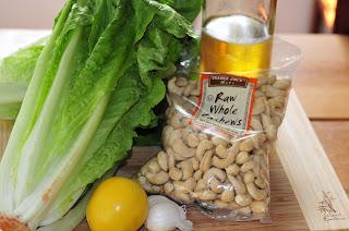 Vegan Caesar Salad Ingredients