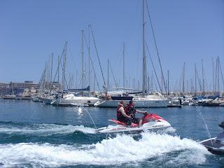 Alquiler motos de agua en Alicante