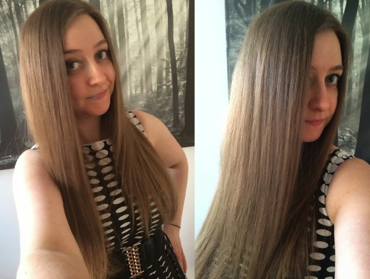 Frizz Ease Flawlessly Straight, long hair