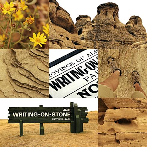 writing on stone 7 wonders alberta