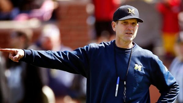 Jim Harbaugh gives some free Easter egg hunting advice on Twitter.
