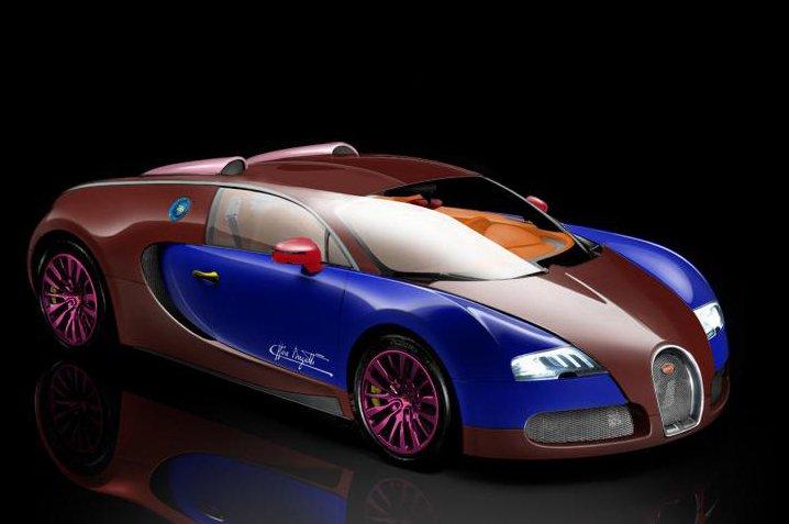 bugatti veyron mais feio do mundo. Black Bedroom Furniture Sets. Home Design Ideas