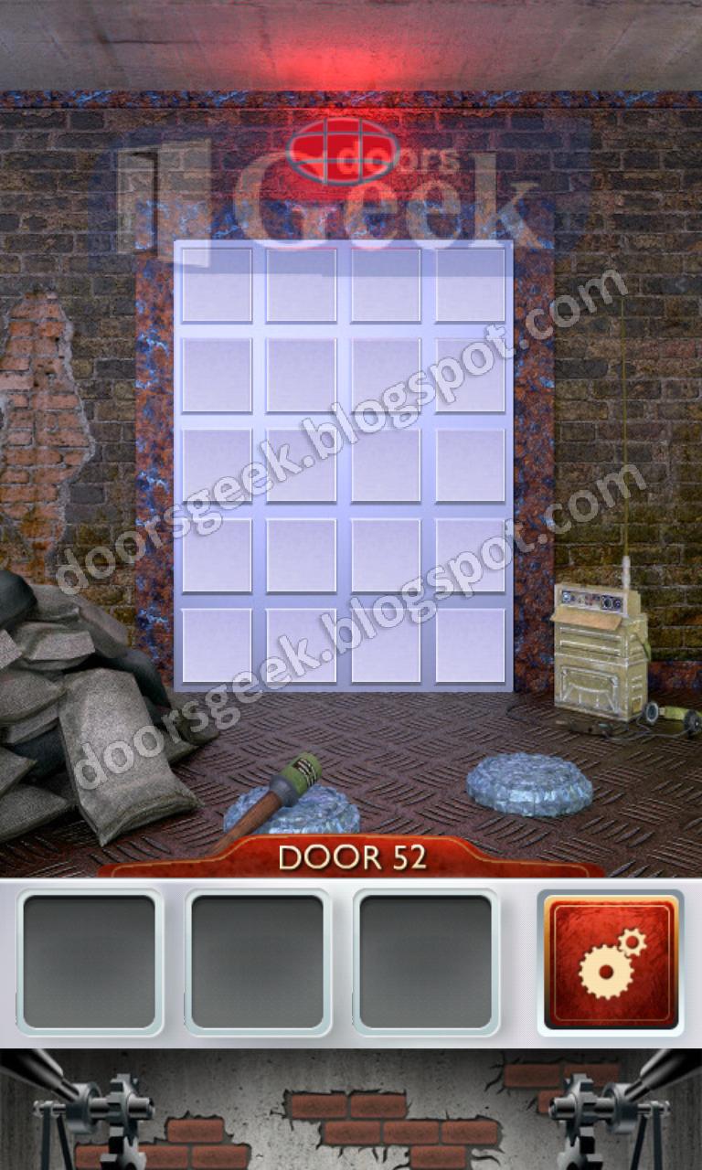 100 doors 2 level 52 doors geek for 100 doors door 6