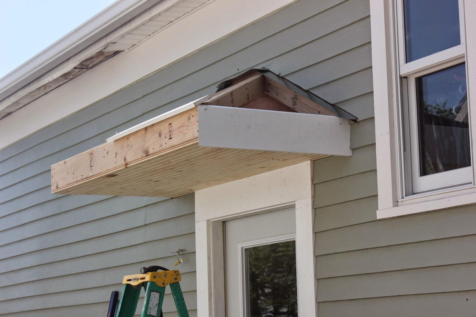 How To Build A Front Door Overhang Images